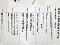 東駒形二丁目町会・行事日程