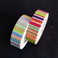 Japanische Klebebänder - masking tapes, 15 mm breit, 10m-Rollen