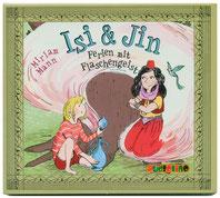 Heike Herold, Isi und Jin, Ferien mit Flaschengeist, Illustration, Kinderbuch, Miriam Mann, Audiolino, Aladin