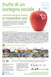 Locandina Frutto Sostegno Sociale 2017