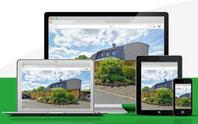 360 Grad Rundgang auf allen mobilen Endgeräten, präsentiert von VERDE Immobilien