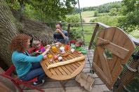 cabane dans les arbres en famille en baie de somme au clos cacheleux