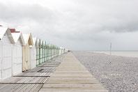 cayeux , les plages de la baie de somme à côté des locations insolites