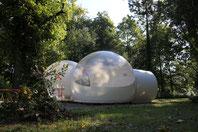 bulle romantique pour nuit insolite en baie de somme