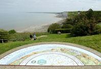 Ault, les falaises de Normandie déroulent leur cordon blanc après la Baie de Somme