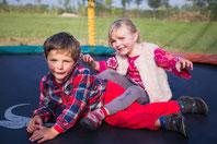 aire de jeux, trampoline, chateau gonflable au camping le clos cacheleux en baie de somme