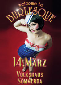 14.03.2014 Welcome to Burlesque