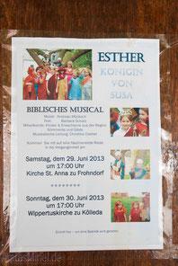 Esther Königin von Susa, ein Biblisches Musical...