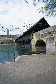Bridge over the Aare in Olten (Photo Heinz Dieter Finck)