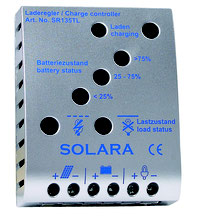 Laderegler von Solara - sicheres laden von Batterien im Wohnmobil, Camper, Kastenwagen, Wohnwagen oder Van. Ladereglegr sind unbedingt notwendig auf Yachten und Segelbooten. Laderegler schützen immer vor Überladung und Tiefenentladung der Batterie.