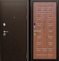 входная дверь итальянский орех