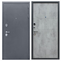 входная дверь бетон светлый