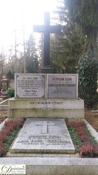 Ehrengrab von Anna Bahr-Mildenburg am Salzburger Kommunalfriedhof