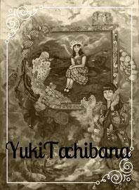 絵画 楽園の贈り物  立花雪 YukiTachibana