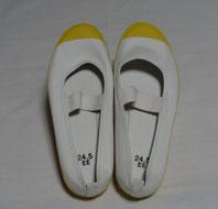 上履き 黄 (21~30cm)