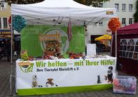 Infostand der Tiertafel RheinErft e.V.