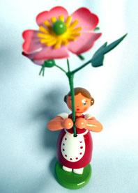 Sommerblumenmädchen