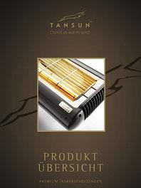 Tansun Infrarotheizungen Katalog