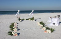 Strandhochzeit in Florida