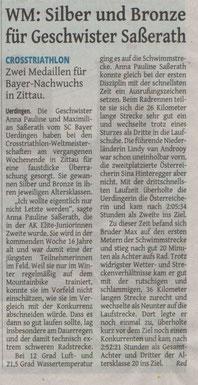 Westdeutsche Zeitung am 18.08.2014