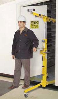 alquiler elevador placas yeso