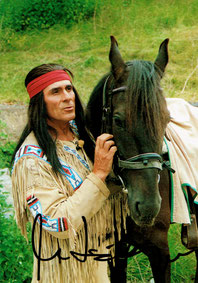 Gojko Mitic als WINNETOU