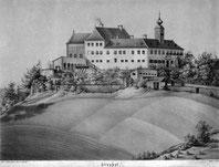 Alter Stich von Schloss Altenhof