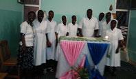 Profesión religiosa de nuestras hermanas en Senegal