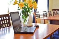 Blumen fürs Büro
