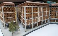 Reibrührgeschweißte Fassade des Bloomberg-Gebäudes in London