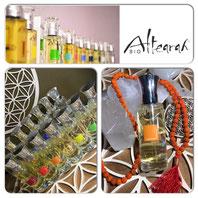 Les parfums de soin Altearah - La cosmétique couleur complice de mon humeur