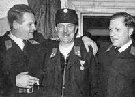 Kopfinger Urgestein: Alois Samhaber, Heinrich Knechtelsdorfer, Fritz Unger