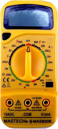 Beispiel für ein Voltmeter