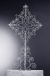 Schmiedeeisen Grabkreuz 150x80cm