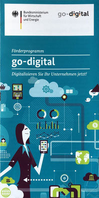 Informationsbroschüre Go Digital