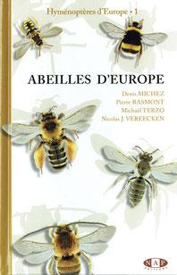 Ouvrage spécialisé présentant les abeilles d'Europe, dont les 987 espèces françaises