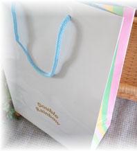 オリジナルレインボー柄の手提げ袋