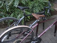 五育に寄付して頂きましたクロスバイク