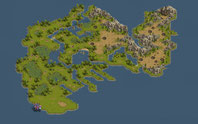 Basiskarte der Insel