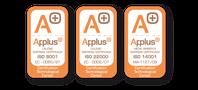 Zertifiziertes Unternehmen nach ISO-9001/ISO-22000/ISO14001