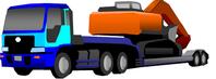 三重県 重機 セミトレーラー 特殊車両通行許可申請代行