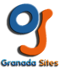 "Logotipo de Granada Sites, ""La Web que quieras"""