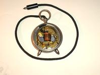 Taschen - Voltmeter Fa. Schöller Frankfurt a/M. von ca. 1910 !