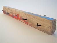 --FCB--Schlüsselbrett aus Treibholz