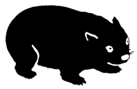 Mascotte des nouvelles éditions Wombat