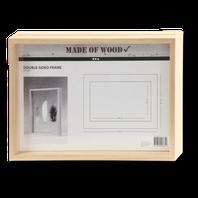 Bilderrahmen aus Holz zum Gestalten