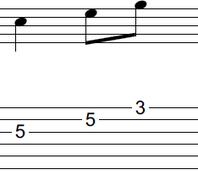 ギターアドリブ入門講座(初心者) 2拍パターン1-2