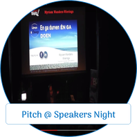 Pitch Myriam Wieringa @ Speakers Night Almere