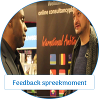 Feedback spreekmoment Myriam Wieringa Speakers Night Almere