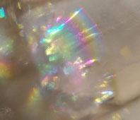 天然石アクセサリー インスピレーション プリズム 光